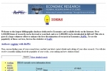 RePEc (Research Papers in Economics) Archive