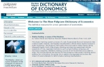 New Palgrave Dictionary of Economics